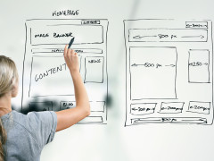Créer une page d'accueil attractive