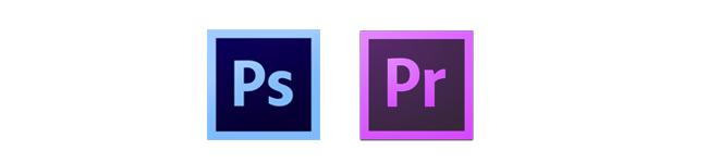 adobe Photoshop et Premiere