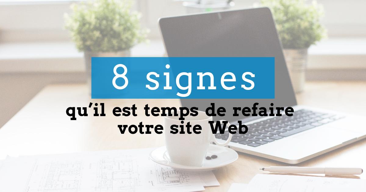 Refaire votre site Web
