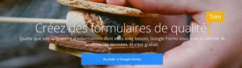 acceder à google forms